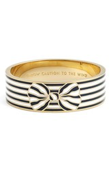 Women's Kate Spade New York 'Out Of The Loop' Bow Bangle Bracelet