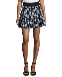 Opening Ceremony Daisy Floral Print Flare Skirt
