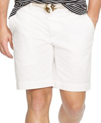Polo Ralph Lauren Men's Classic Fit Flat Front Chino Shorts White