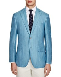 Jack Victor Loro Piana Pool Blue Classic Fit Sport Coat 100 Bloomingdale's Exclusive