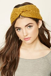 Forever 21 Twisted Knit Headwrap