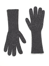 Rag And Bone Catherine Cashmere Gloves Charcoal