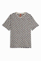 Missoni Crew Neck Seersucker T Shirt Multi