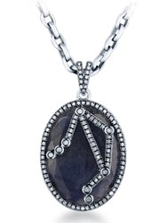 Jade Jagger Constellation Pendant Libra Blue