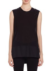 Rag And Bone Riley Sleeveless Top Black