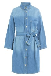 Zadig And Voltaire Denim Dress Blue