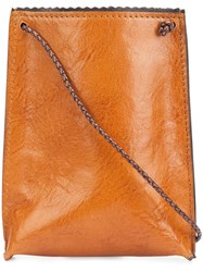 B May 'Cell Pouch' Crossbody Bag Brown