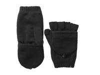 Plush Fleece Lined Texting Mittens Black Dress Gloves
