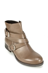 Summit By White Mountain 'Nerida' Ankle Bootie Women Taupe Leather