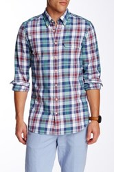 Gant L. Malibu Madras Check Long Sleeve Fitted Shirt Multi