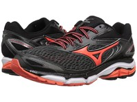 Mizuno Wave Inspire 13 Dark Shadow Fiery Coral White Women's Running Shoes Black