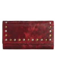 Patricia Nash Patent Terresa Wallet Berry Red