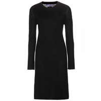 Dear Cashmere Cotton And Cashmere Blend Dress Black
