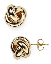 Nancy B Vermeil Love Knot Stud Earrings Gold