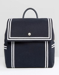 Tommy Hilfiger Tommyxgigi Nautical Backpack Navy Felt