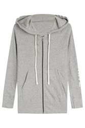 James Perse Cotton Hoodie Grey