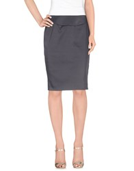 Versace Collection Skirts Knee Length Skirts Women Lead