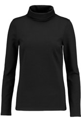 Marc By Marc Jacobs Bynx Jersey Turtleneck Top Black
