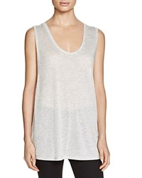 Alternative Apparel Alternative Burnout Tank Oatmeal Heather