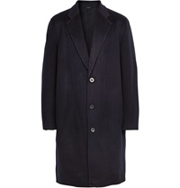 Acne Studios Charles Oversized Wool And Cashmere Blend Overcoat Blue