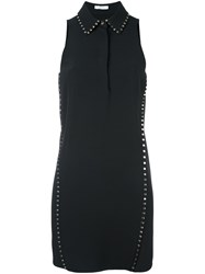Versace Collection Studded Collar Dress Black