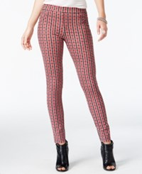 Sanctuary Plaid Grease Leggings Vintage Plaid