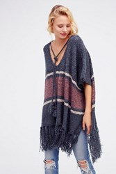 Free People Womens Juno Striped Boucle Ponch