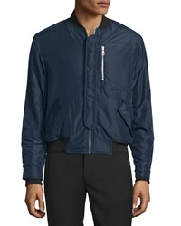 Opening Ceremony Deck Flight Bomber Jacket Midnight Navy