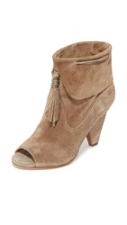 Sigerson Morrison Faro Open Toe Booties Cloud