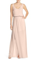 Women's Show Me Your Mumu 'Kendall' Soft V Back A Line Gown