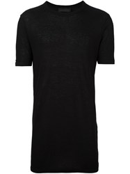 Diesel Black Gold Fine Knit T Shirt Black