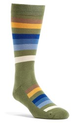 Pendleton 'Rocky Mountain' Stripe Socks
