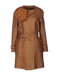Space Style Concept Coats And Jackets Full Length Jackets Women Brown