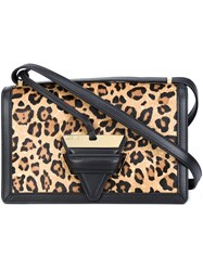 Loewe Leopard Print Shoulder Bag Multicolour