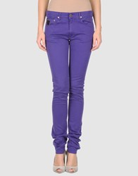 April 77 Trousers Casual Trousers Women Purple