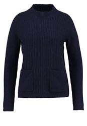 Banana Republic Klima Jumper Navy Dark Blue