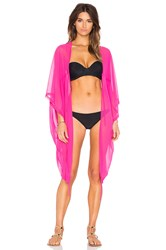 Agent Provocateur Rosana Cover Up Pink