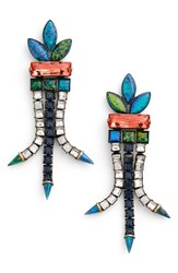 Lionette By Noa Sade Women's 'Sea Of Dreams Brazil' Jewel Drop Earrings