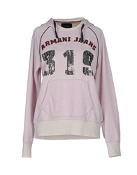 Armani Jeans Sweatshirts Light Pink
