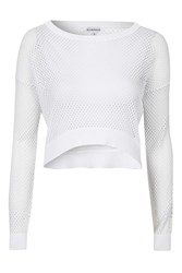 Glamorous Cropped Knit By White