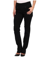 Jag Jeans Peri Pull On Straight In Black Void Black Void Women's Jeans