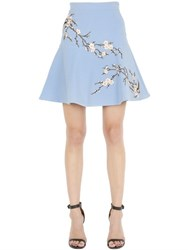 Ainea Floral Embroidered Skirt