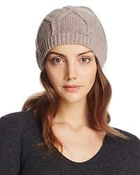 Bettina Slouchy Knit Beanie Taupe