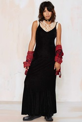 Nasty Gal Vintage Simone Velvet Dress