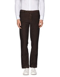 Alain Trousers Casual Trousers Men Dark Brown