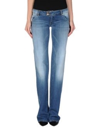 Met Denim Pants Blue