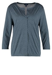 Tom Tailor Long Sleeved Top Canvas Petrol Green