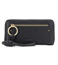 See By Chloe Patti Leather Wallet Black
