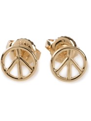 Aurelie Bidermann Peace Earrings Metallic