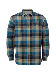White Stuff Cabby Check Shirt Blue
